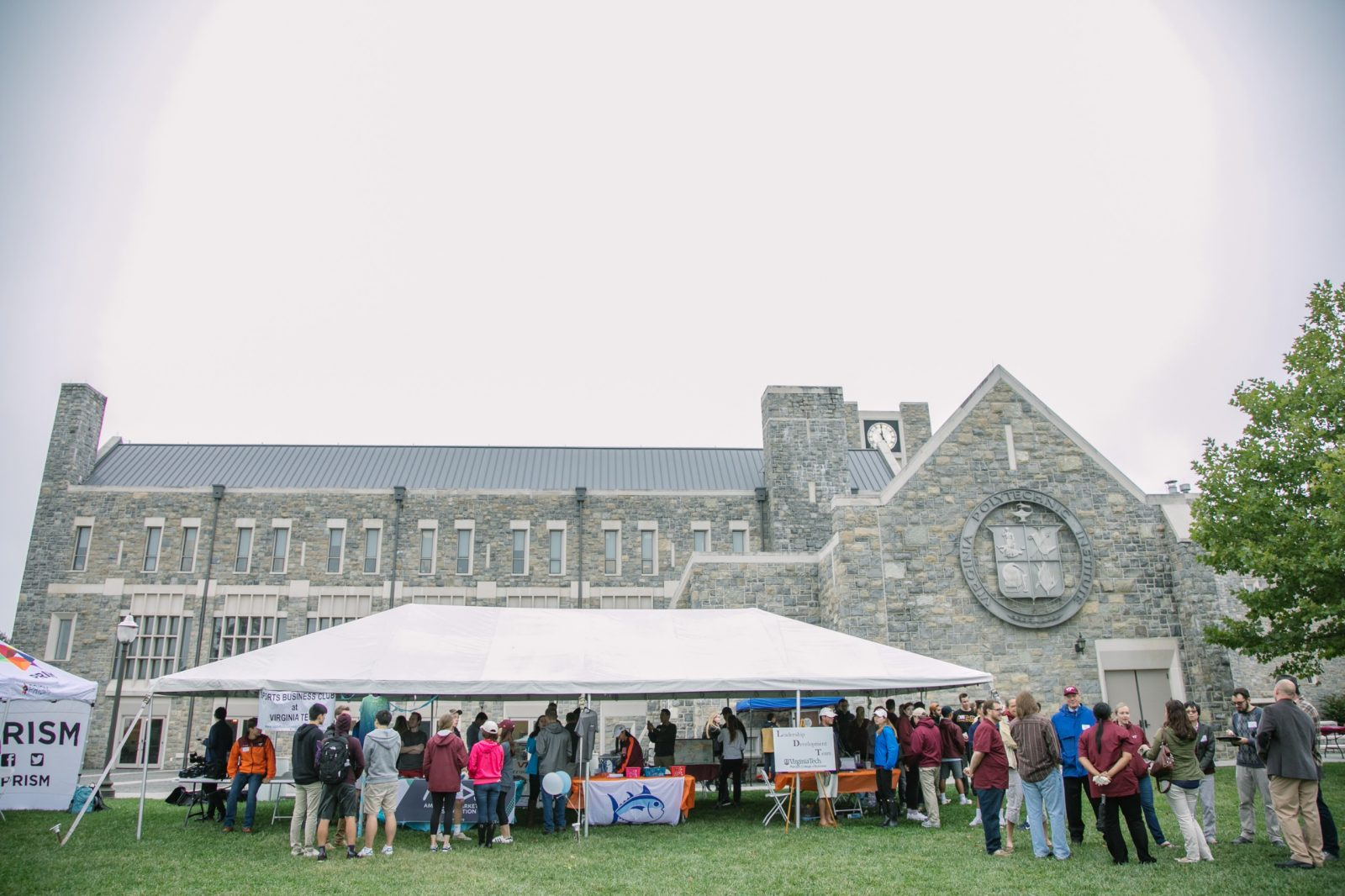The Pamplin College of Business kicked off the Fall semester with its annual picnic for students, faculty and staff on Friday, September 1, 2017.