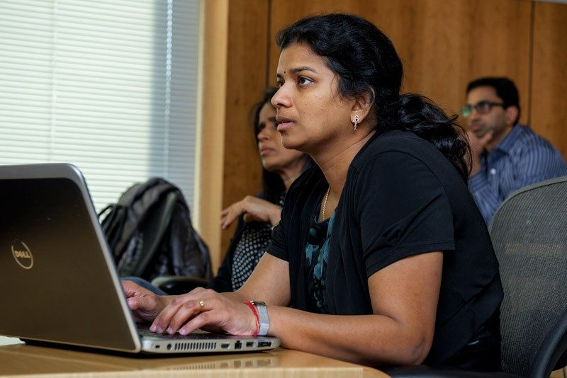 STUDENTS such as Mala Lal balance work, study, and family in the highly ranked Evening MBA program.