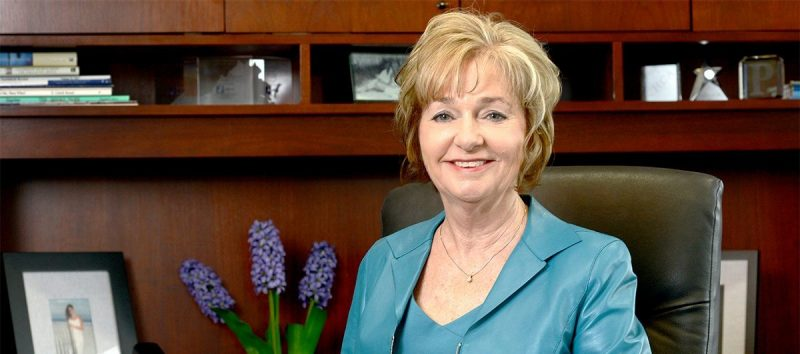 Deborah Petrine: from typist to CEO and rector