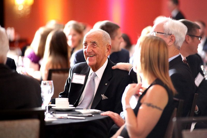 Howard Feiertag was honored for his lifetime contributions to hospitality education and practice at a gala held in metro Washington, D.C., last November.