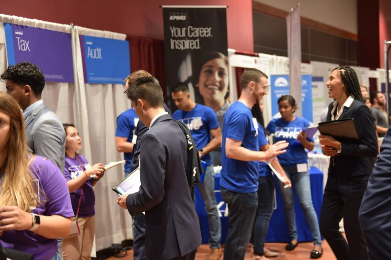 "Virginia Tech's ""Super Bowl"" of job recruiting attracts thousands"