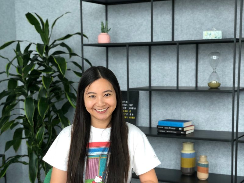 Marketing grad takes a leap, lands dream gig