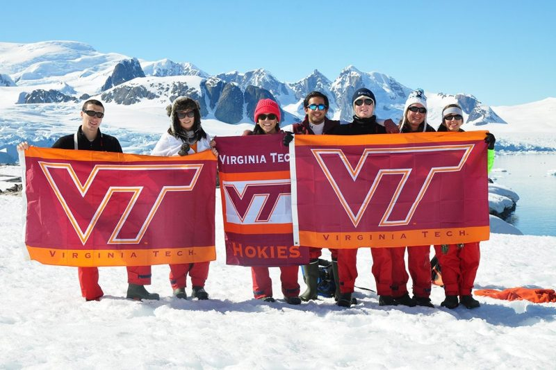 Virginia Tech receives national recognition for meeting study abroad goal