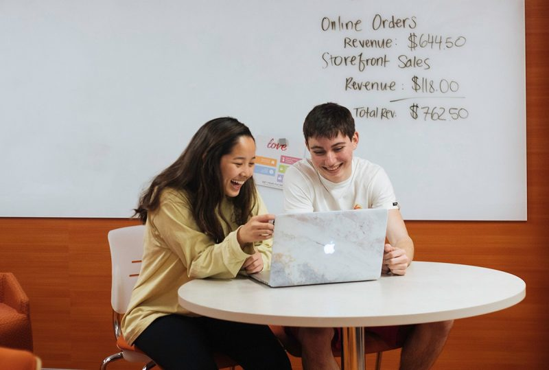 First-year business course raises over $17,000 for CVC