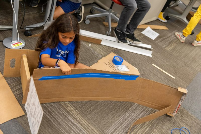 Maker Camp 2019 unleashes middle schoolers' curiosity and creativity