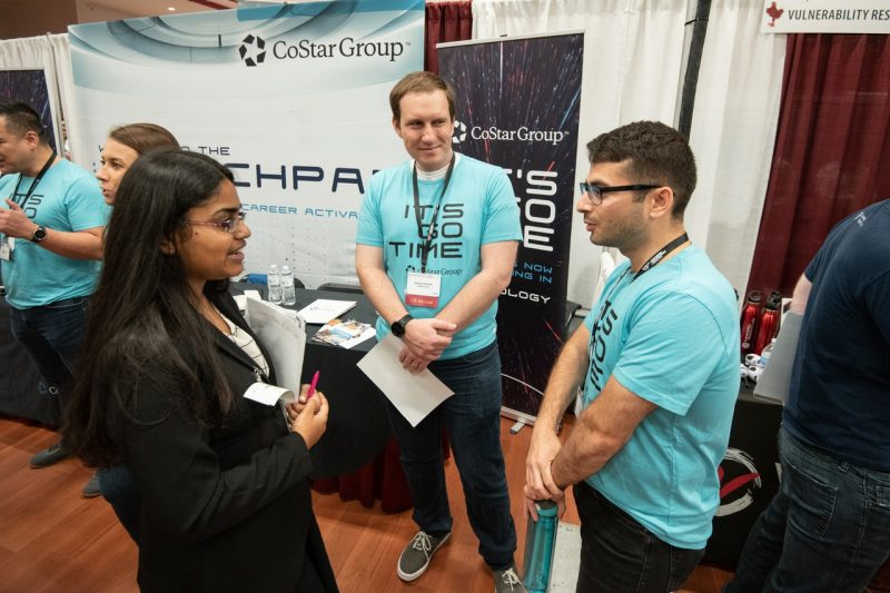Computer science career fair gives students and companies a distinctive edge