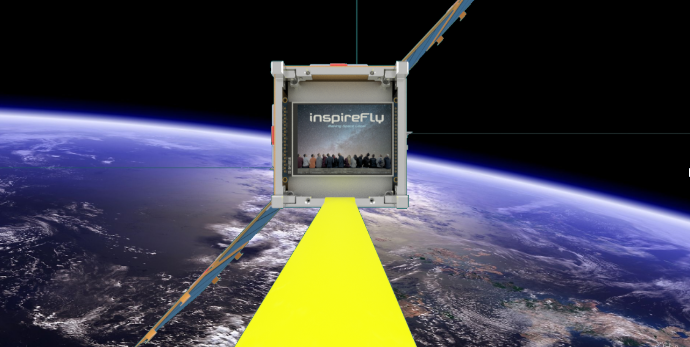 VT's inspireFly team envisions selfies in space