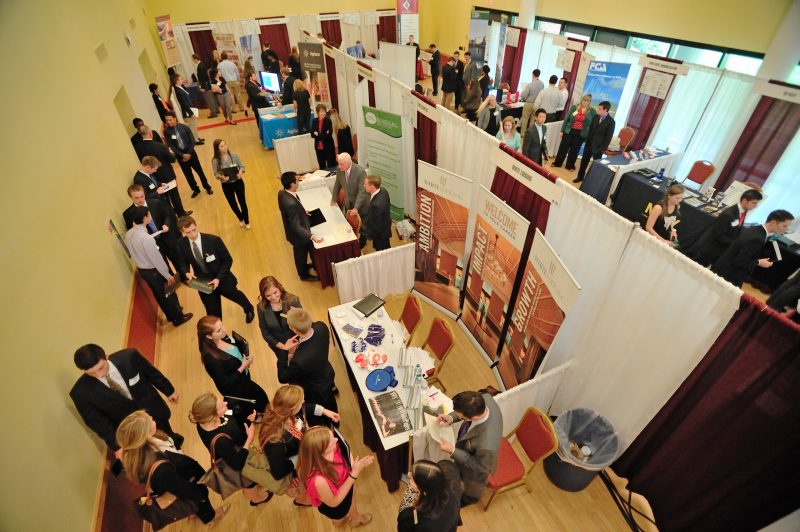 Career fair at Virginia Tech