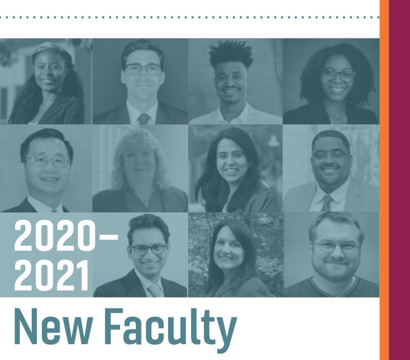 2020-2021 New Faculty