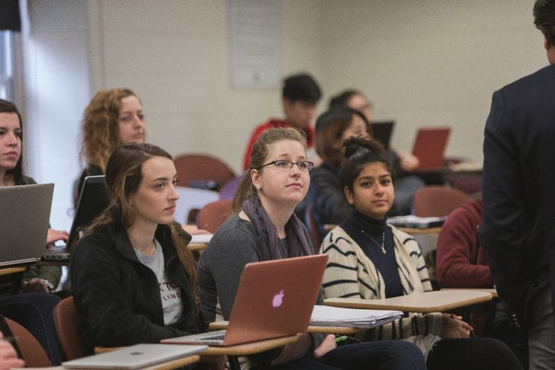 ACIS 5514 students in class.