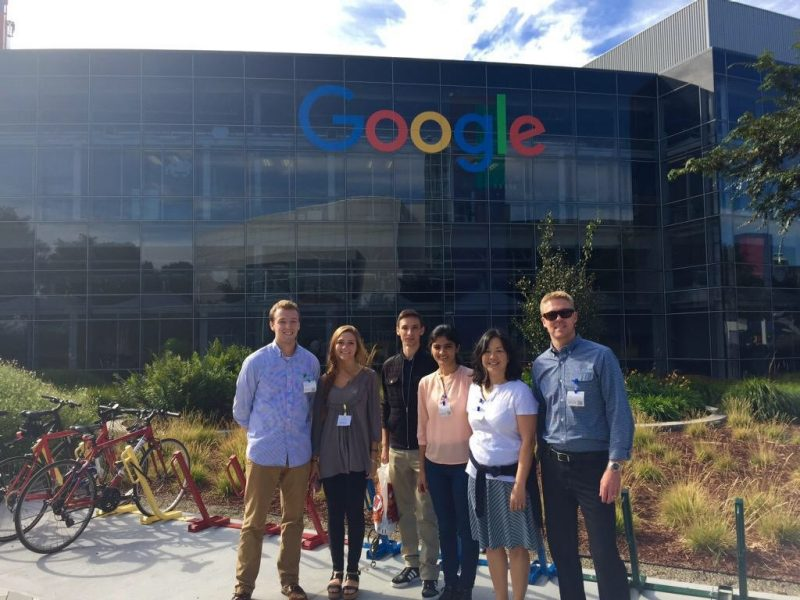 Innovate visits Google headquarters in Silicone Valley, CA
