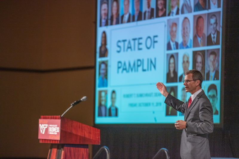 Pamplin Engagement Summit: One year later