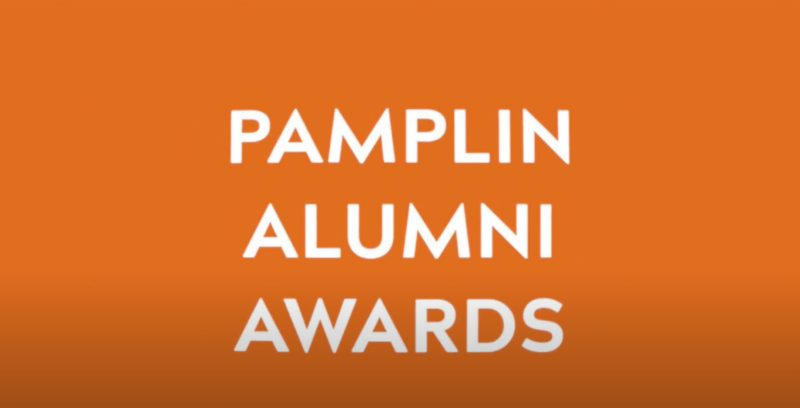 Pamplin honors alumni during virtual 2020 Pamplin Awards