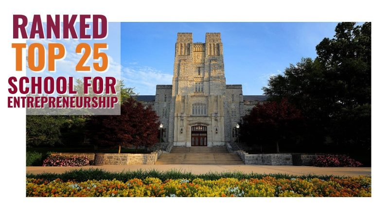 Home for startups: Virginia Tech ranked among nation's top schools for entrepreneurship studies